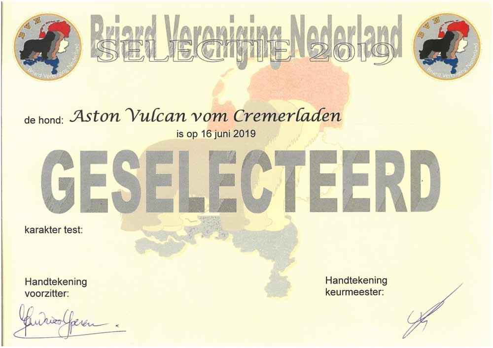 Selektion Holland Aston Vulcan vom Cremerladen